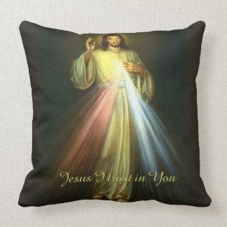 Confiance divine de Jésus I de pitié dans vous Oreiller