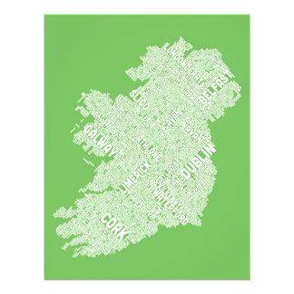 Configuration de texte de ville de l Irlande Eire Prospectus