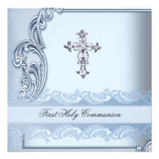 Confirmation bleue 2 de première sainte communion