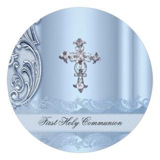 Confirmation bleue ab de première sainte communion