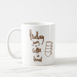 Confitures et café de vendredi à disposition mug