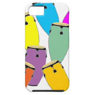 Congas d'arc-en-ciel coques Case-Mate iPhone 5