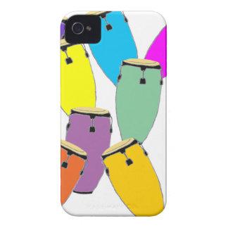 Congas d'arc-en-ciel coques iPhone 4 Case-Mate