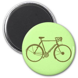 Congélateur de cyclistes aimant