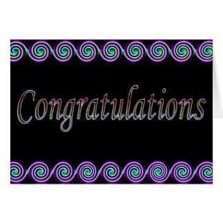 Congrats Cartes