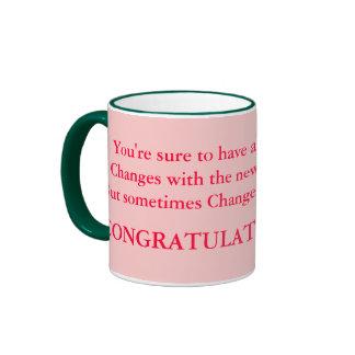 congrats sur la tasse de bébé