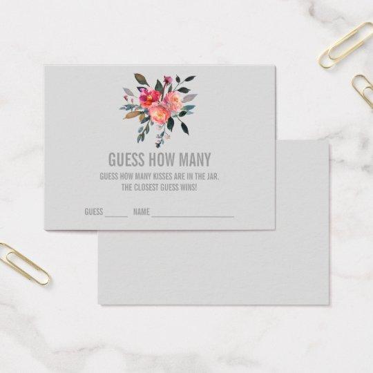 Conjecture grise moderne combien embrasse des cartes de visite
