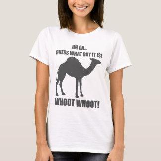 Conjecture quel jour c'est T-shirt de chameau de