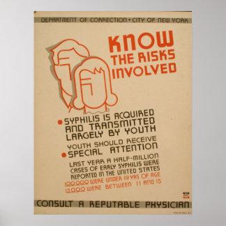 Connaissez le poster vintage de WPA impliqué par