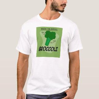 Connaissez l'ennemi ! Brocoli T-shirt