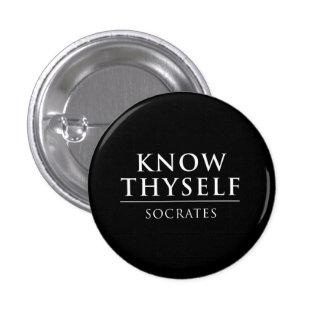 Connaissez Thyself - Socrates Badge