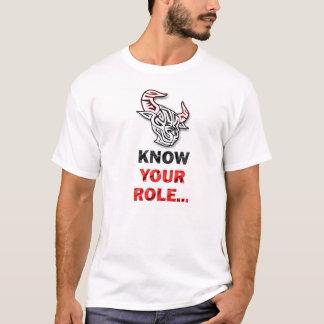 Connaissez votre T-shirt de bébé de rôle