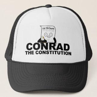 Conrad le casquette de camionneur de constitution