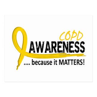 Conscience 2 de COPD Carte Postale