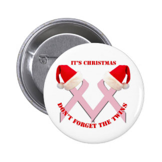 Conscience de cancer du sein à Noël Pin's