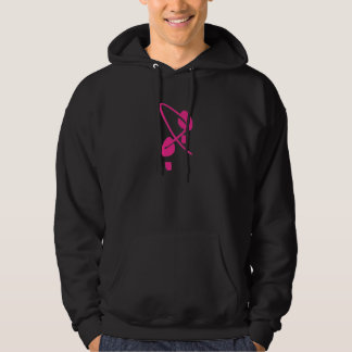 Conscience de cancer du sein je marche pour un sweats à capuche