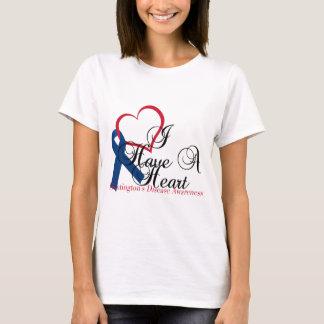 Conscience de la maladie de Huntington de ruban de T-shirt
