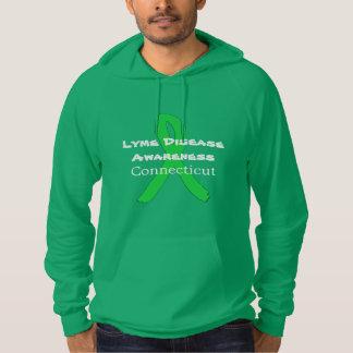Conscience de la maladie de Lyme dans la chemise Pull À Capuche