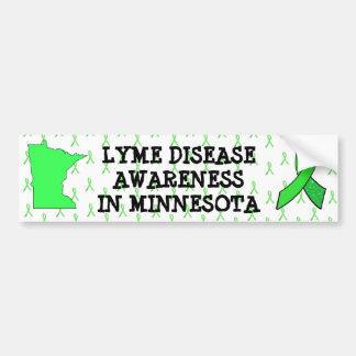 Conscience de la maladie de Lyme dans l'adhésif Autocollant De Voiture