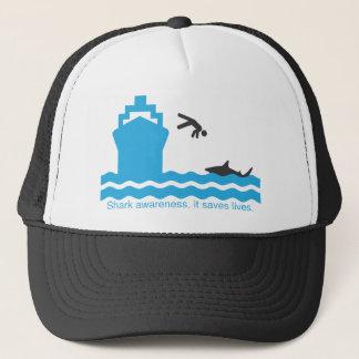 conscience de requin casquette