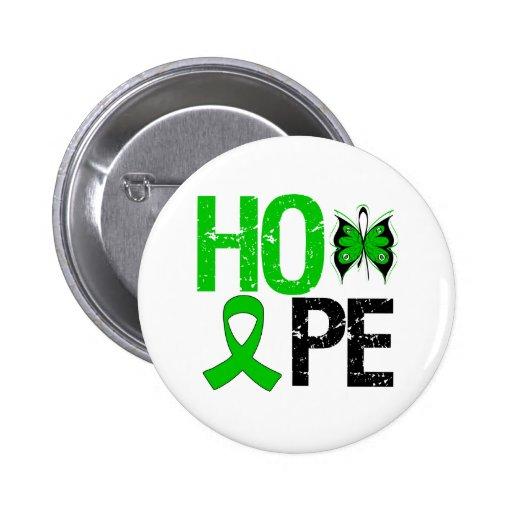 Conscience d'infirmité motrice cérébrale d'espoir badge avec épingle