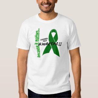Conscience d'infirmité motrice cérébrale t-shirts