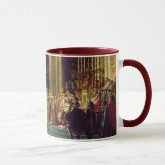 Consécration du napoléon l d'empereur mug