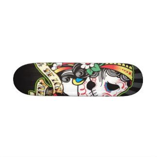 Conseil de Dia de los Muertos Skate Plateau De Planche À Roulettes