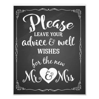 conseil et signe de mariage de partie de souhaits photographies