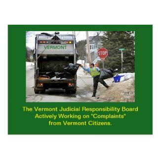 Conseil juridique de conduite du Vermont : Carte