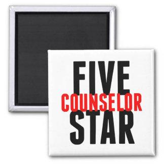 Conseiller de cinq étoiles aimant