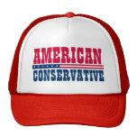 Conservateur américain casquettes de camionneur