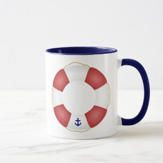 Conservateur de vie nautique mug