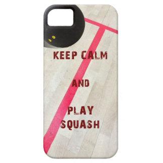 Conservez la courge de calme et de jeu coque Case-Mate iPhone 5