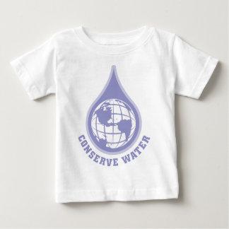 Conservez l'eau t-shirt pour bébé