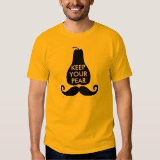 Conservez votre poire t-shirts