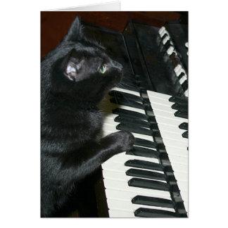 Considérant d'organe de chat cartes
