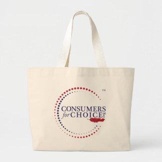 Consommateurs pour le choix grand sac
