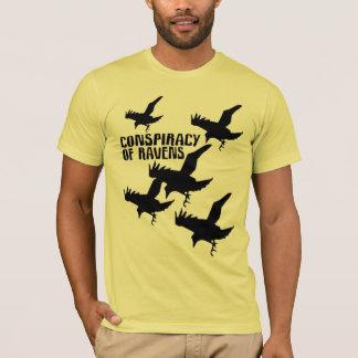 conspiration des corbeaux t-shirt