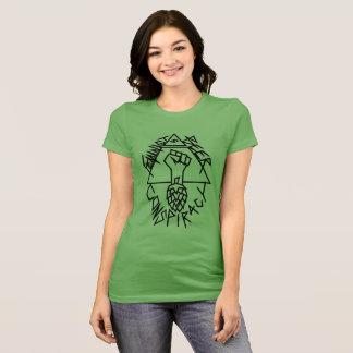 Conspiration féministe de bière : arrondi t-shirt