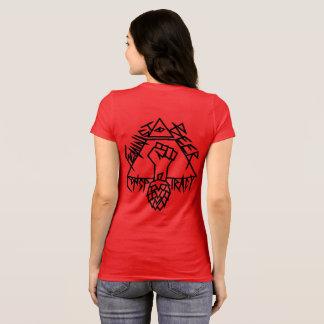 Conspiration féministe de bière : tranchants sur t-shirt