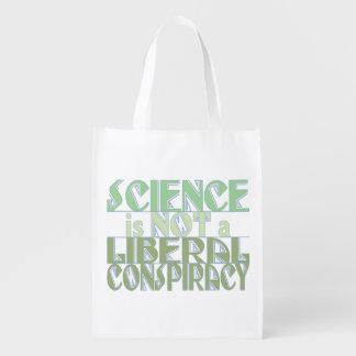 Conspiration verte de libéral de la Science Sac Réutilisable
