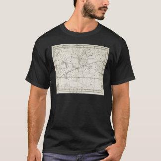 Constellation 1795 d'étoile de Lion de cru T-shirt