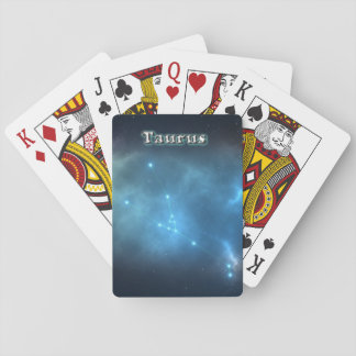 Constellation de Taureau Cartes À Jouer