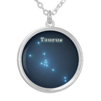 Constellation de Taureau Pendentif Rond