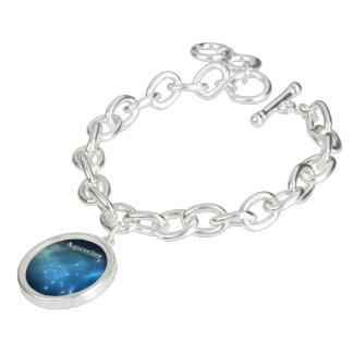Constellation de Verseau Bracelet Avec Breloques