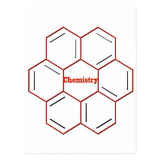 Constitution chimique en chimie carte postale
