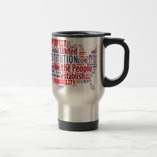 Constitution des Etats-Unis dans la forme des Mug De Voyage