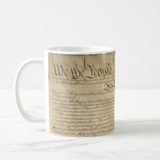 Constitution d'Etats-Unis Mug