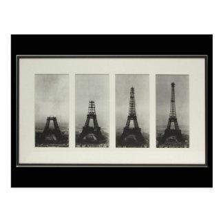 Construction de carte postale de Paris France de T